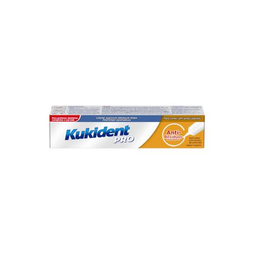 6185009 Kukident Pro Creme Anti Resíduos Prótese – 40g