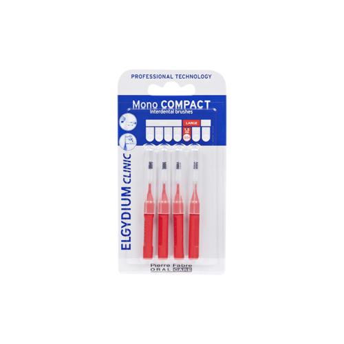 6251207-Elgydium-Clinic-Escovilhão-Mono-Compact-Vermelho