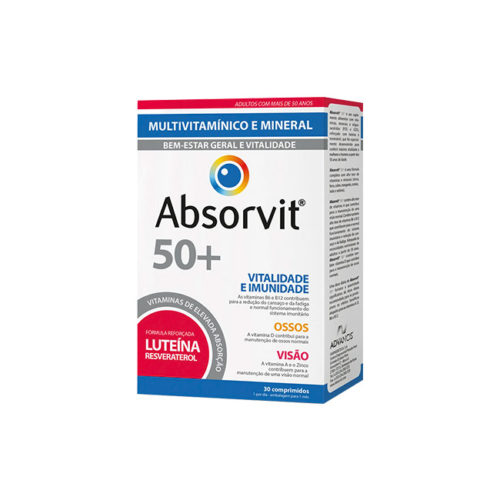 7388868-Absorvit-Vitaminas-50+—30-Comprimidos
