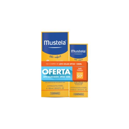 6278077-Mustela-Solar-Leite-SPF-50+-100ml-+-com-Oferta-Leite-Rosto-–-40ml