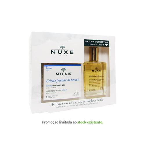 6852764-NUXE-Crème-Fraîche-Hidratante-48h—50ml-+-Oferta-Huile-Prodigieuse—30ml