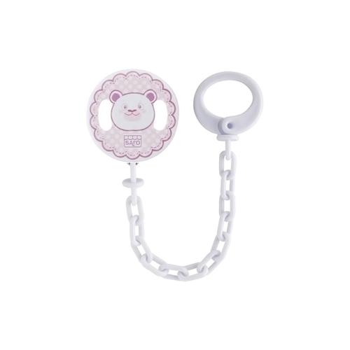 6111567-SARO-Corrente-Porta-Chupeta-Baby-Urso-Rosa