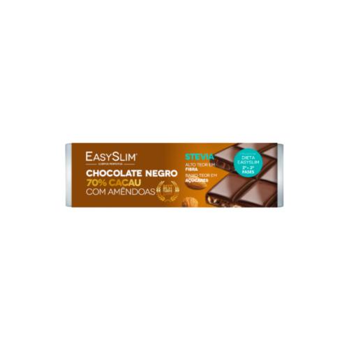 6322909EasySlim-Chocolate-Negro-70%-Cacau-com-Amêndoas—30g