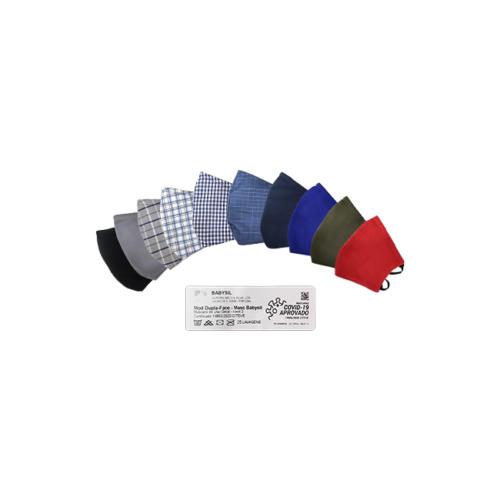 1011007-Máscara-Têxtil-Adulto-Reutilizável-e-Lavável-até-25X-de-Dupla-Face—Nível-3