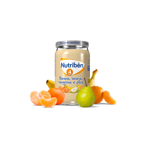 6332643-Nutribén-Boião-Maçã,-Laranja,-Banana,-Pera-e-Tangerina—235g