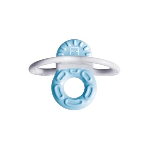 6919001-Mam-Bite-&-Relax-Fase-1-Mini-Mordedor-Azul