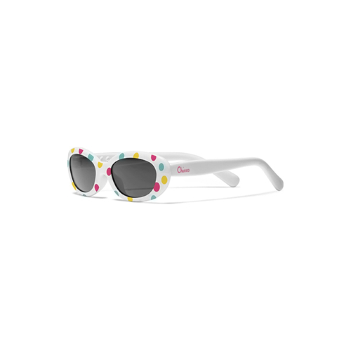 1010025-7-Chicco-Óculos-de-Sol-Branco-Bolas-0m+