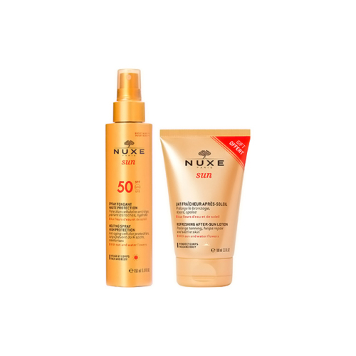 7076935-Nuxe-Sun-Spray-Fundente-SPF-50-com-Oferta-Leite-Pós-Solar-100ml